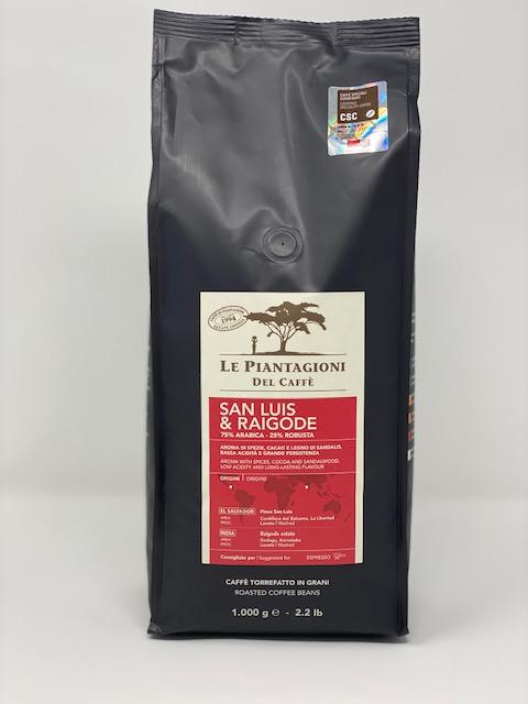 Kaffee - Le Piantagioni del Caffé -1kg ganze Bohnen