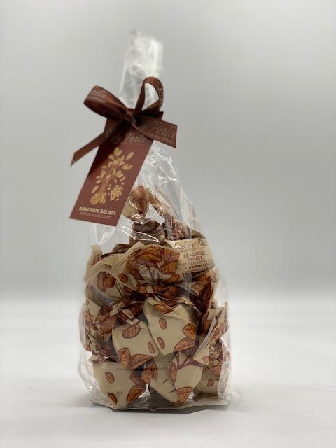 Schokotrüffel mit gesalzenen Erdnüssen - La Perla