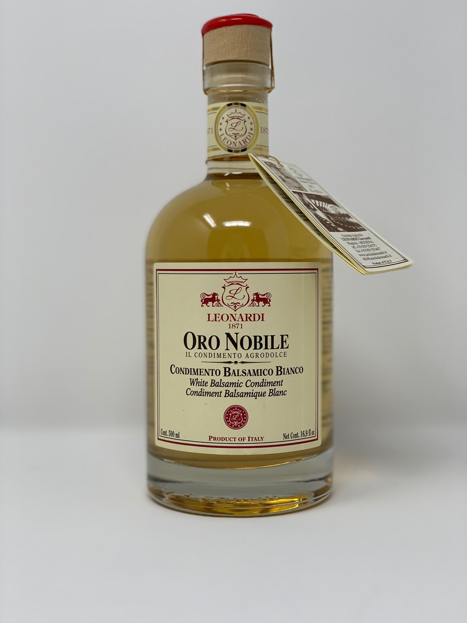 """Condimento Balsamico Bianco """"Oro Nobile"""""""